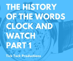Learn clock and watch repair